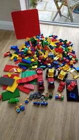 Huge lot of duplo lego