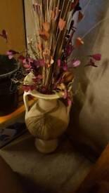 Heavy decorative vase