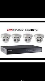 CCTV security camera +installation