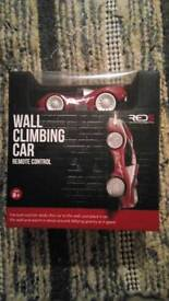Wall climbing car - remote control