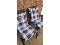 2 x Garden Seat Cushions!