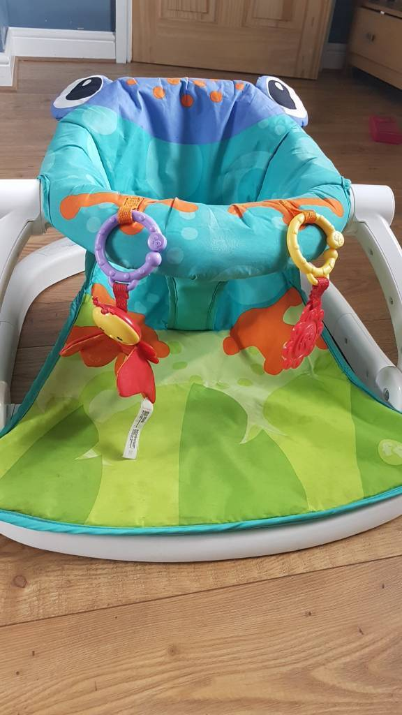 Fisher price sit me upin Norwich, NorfolkGumtree - My baby went in here from 10 weeks old. It folds flat so easy to take out with you.. in good condition and can deliver if needed