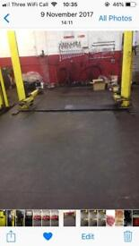 2 post lift ramp