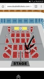 Block 3, Row C Michael Buble Tickets