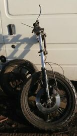 Yamaha XS front end/trike project