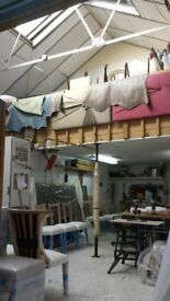 various workshops/workunits/rehearsal space to let in new industrial conversion