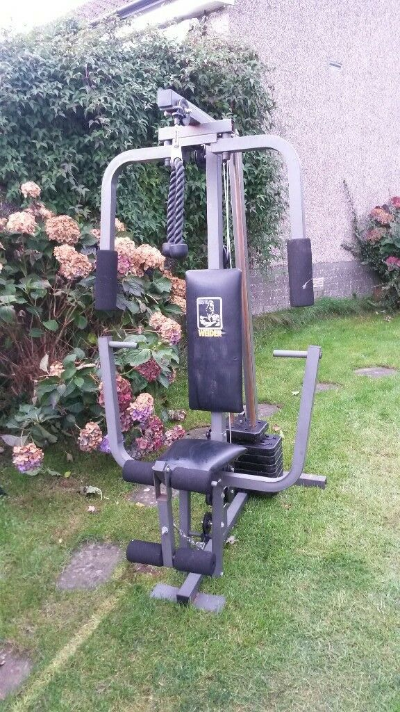 Weider multi gym, 8510 model.