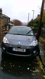 Citroen DS3 DStyle HDI 90 - 2011 Plate. £30 per year tax MOT til May 2017