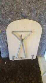VW Dormobile interior table with leg and brackets very good condition £100