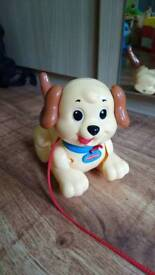 Fischer price Lil snoopy pull along dog