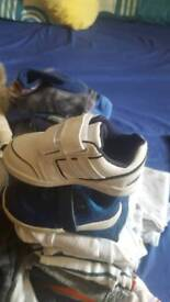 Boys clothes and trainers