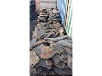 Welsh Rustic Garden Slate / Stone / Rocks