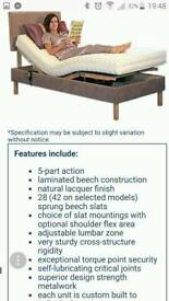 Full adjustable electric single bed