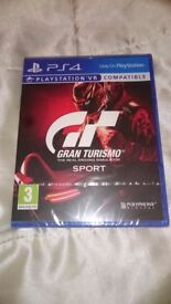 Gran Turismo Sport BNIS PS4 Uk game Sealed