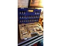 Draper socket set and spanner set