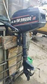 2.5hp evinrude short shaft ideal for rubber boat