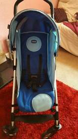 Chicco buggy with cosy toes.