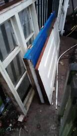 Free wooden doors and windows for fire wood