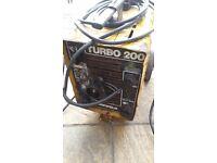 Arc welder sureweld 240/415 200 amp welder