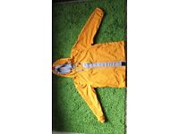 Weird Fish, L size,yellow waterproof spring/summer jacket,new