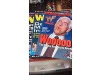 Wrestling magazines £50