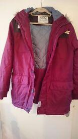 Mens claret coloured coat