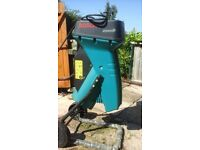BOSCH Garden Shredder AXT2000 HP ideal for composting.