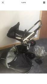 Quinny Buzz Pushchair with carry cot /pram