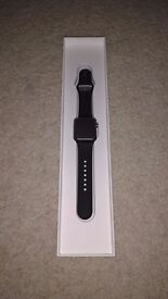 Apple Watch Series 1 (38mm Space Grey with Black Sport Band)
