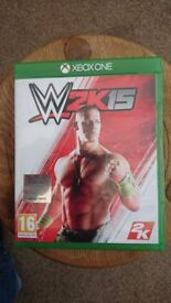 W2K15 Xbox One Game - excellent condition