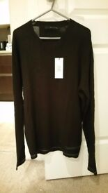 Calvin Klein mens Jumper - New with tags - Size Large
