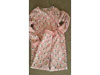 Girls Pink Onesie from Debenhams 10Y