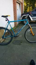 Fixie single speed disc brake **look**