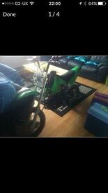 For sale 110cc small wheeled pitbike