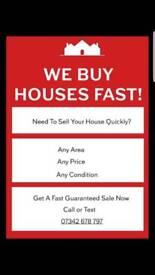We Buy Houses Fast!!!