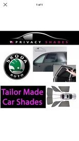 Skoda Octavia estate 2004to2009 Full set of fitted privacy blinds x5