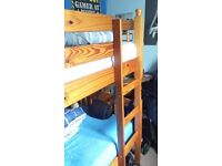 Pine bunk bed - frame only