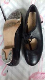 Taps shoes size 12 black