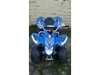 children's blue 6v ride on quad age 3-5 in great condition