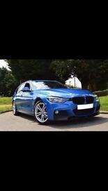 """BMW F31 18"""" Alloys and Bridgestone Potenza Run Foats 6-7mm"""