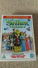 DVD box set - The Shrek trilogy