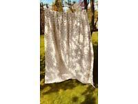 Ditsy Rose & Cream curtains