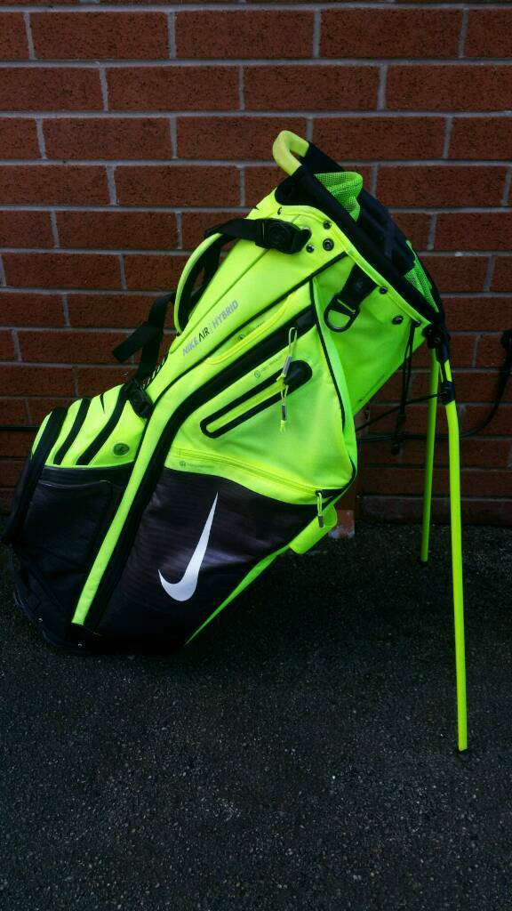 Nike Air Hybrid Golf Stand Bag 14 Way Divider Dual Strap System Can Deliver Or