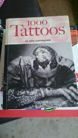 1000 Tattoos Book by Ed.Henk Schiffmacher Taschen