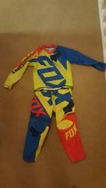 Kids motocross suit