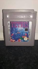 Nintendo game boy game, ,, tetris
