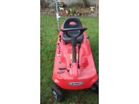Ride on emak lawnmower