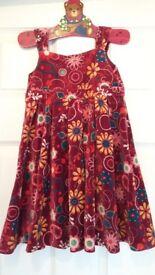 Girl's dress 18 - 24 months 90cm