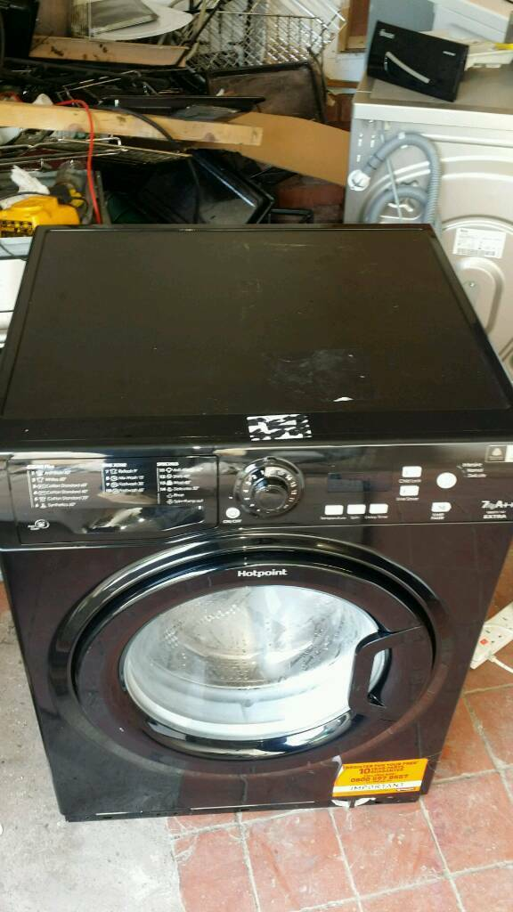 Hotpoint new black washer fir sale