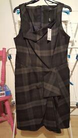 Next Taylored Dress nwt Size 14
